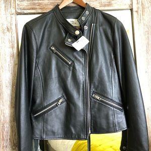 Coach leather jacket